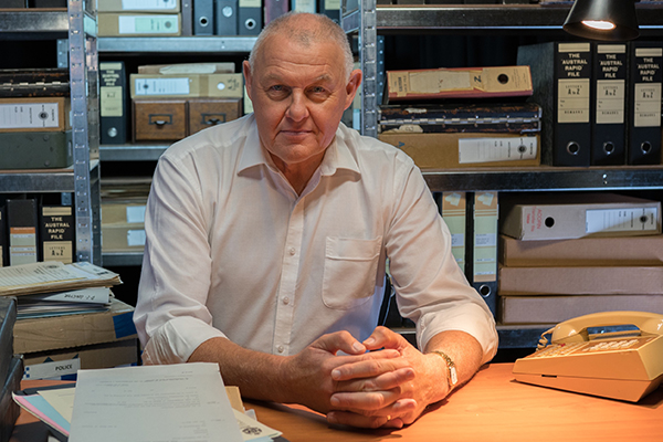 Article image for Australia's top detective reveals the secrets on how he's cracked the toughest cases
