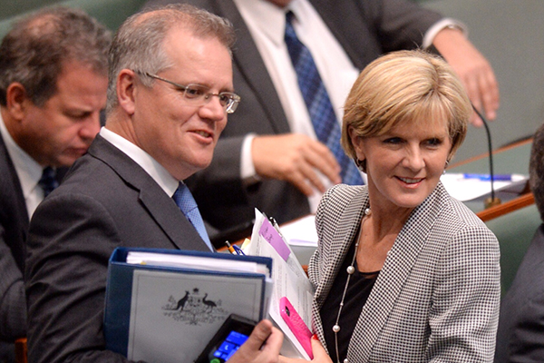 Article image for PM on Julie Bishop's future: 'If she wants to do something else that's up to her'