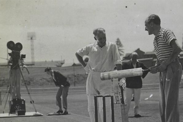 Don Bradman's long lost film cameo found after 83 years