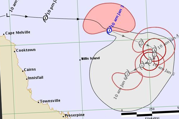 Article image for Tropical Cyclone Penny expected to strengthen overnight
