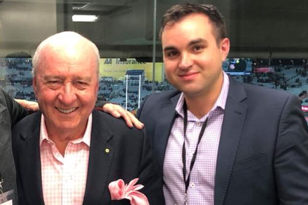 Article image for 'I'm highly embarrassed': The hilarious reason Alan's sports reporter missed his cross