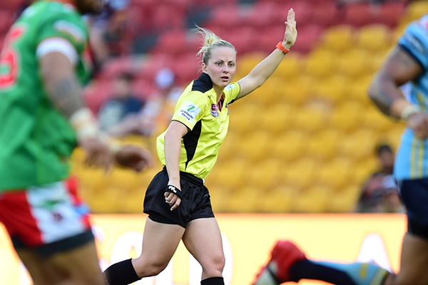 Female first, NRL history to be made this weekend
