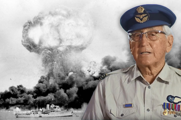Article image for 'Tattooed onto my brain': Final RAAF survivor relives the Bombing of Darwin