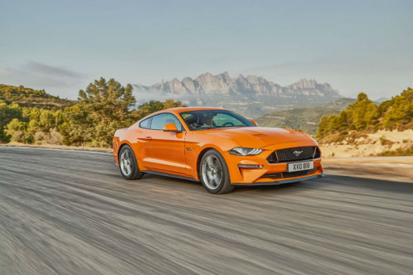 Ford's Mustang – as a driver this big lusty natural-aspirated V8 really stirs the blood