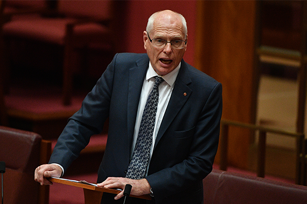 Article image for 'You attack us, we can attack you back': Jim Molan warns cyber hackers