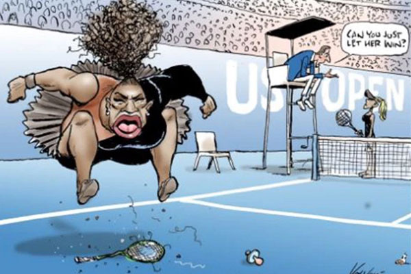 Australian Press Council hands down ruling on controversial Serena Williams cartoon
