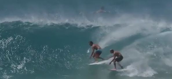 Authorities warn people against surfing in wild weather