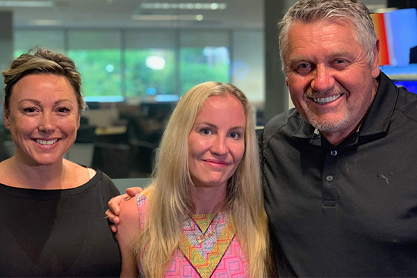 'You're a hero': MND sufferer shares her emotional battle with Ray Hadley