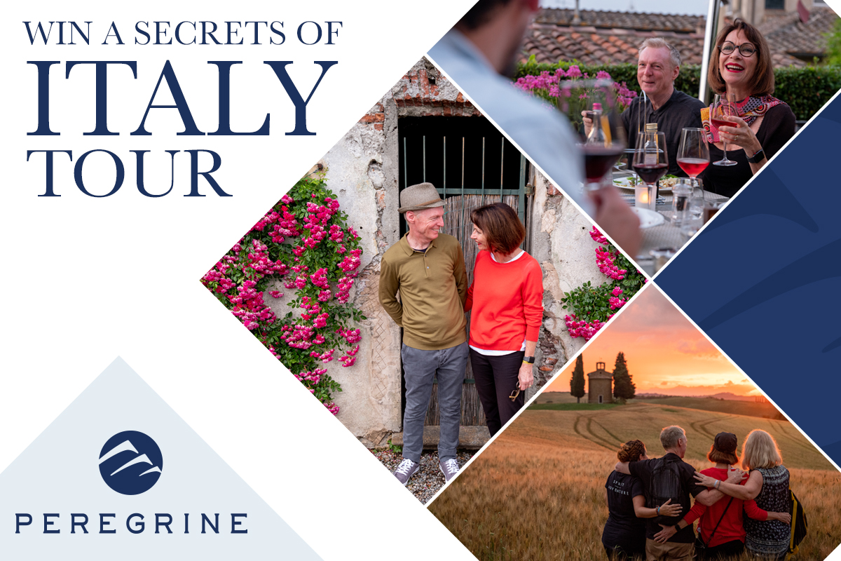Win a Peregrine Adventures 'Secrets of Italy' 10 day tour for two!