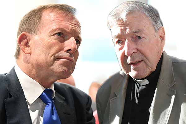 Tony Abbott admits he phoned 'friend' George Pell on the same day guilty verdict revealed