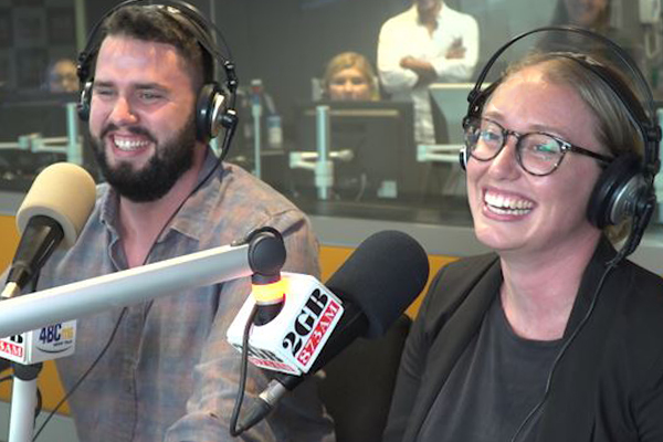 Article image for Ben Fordham saves the day, surprises his producer with the ultimate gift