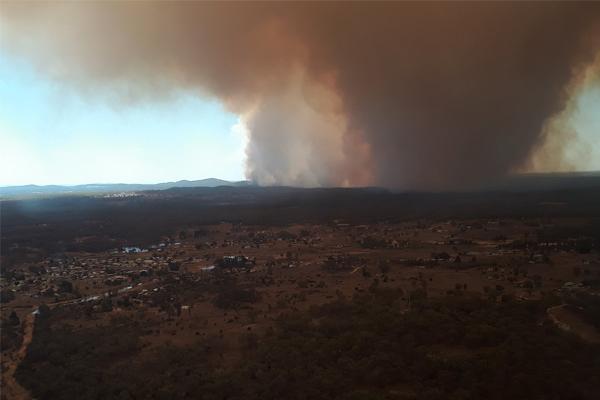 Bushfires threatening homes in northern NSW