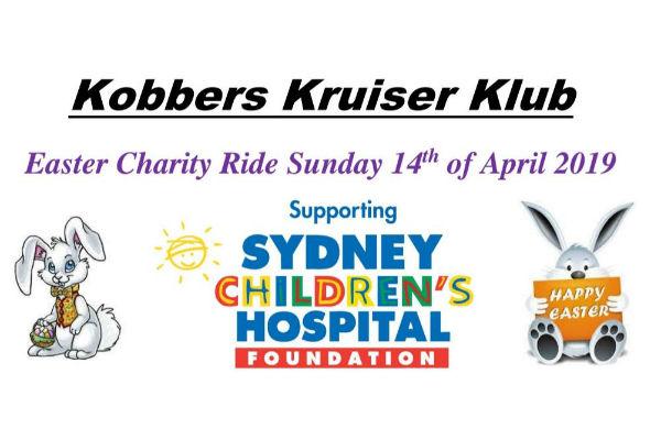 Kobbers Kruiser Klub Easter Charity Ride