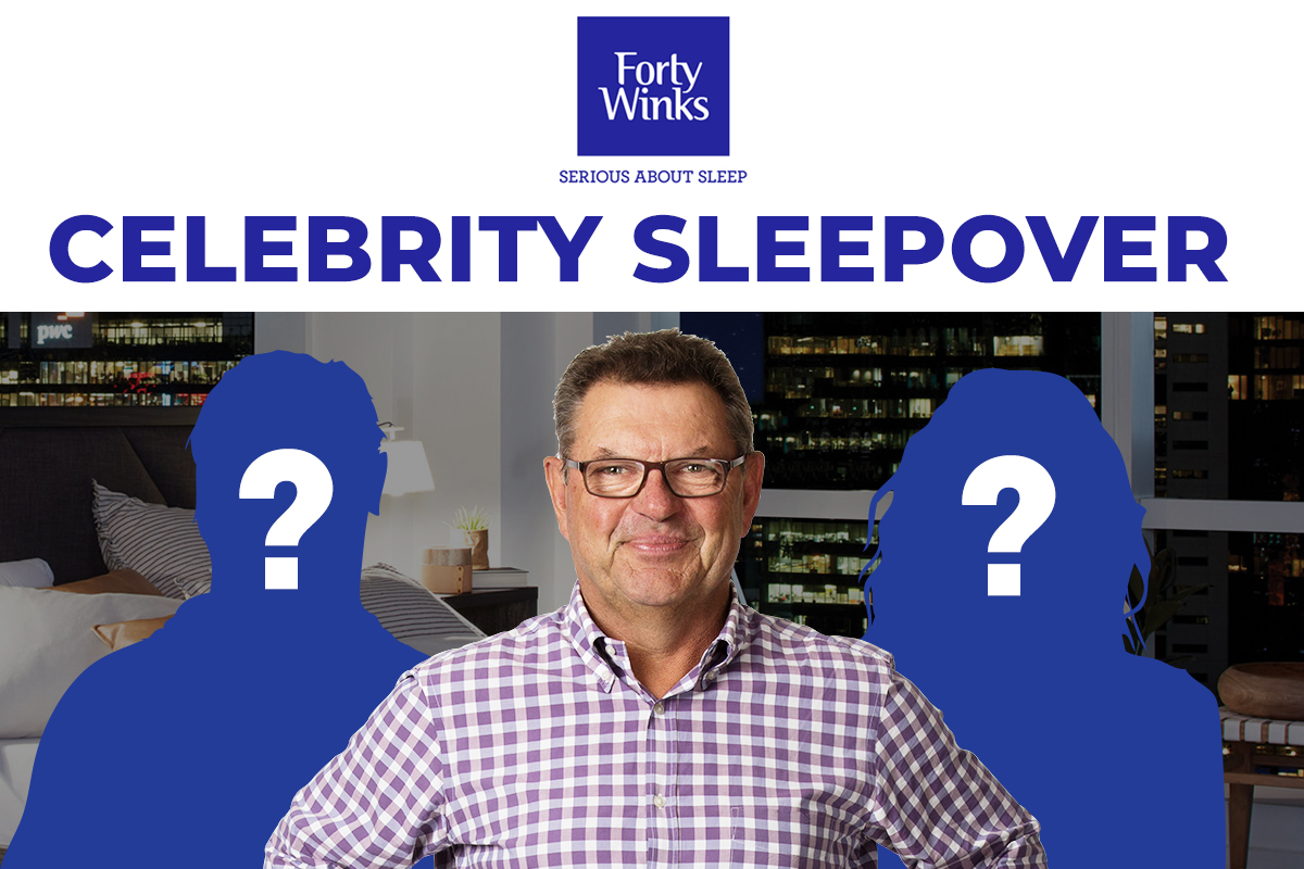 Who's at the celebrity sleepover?