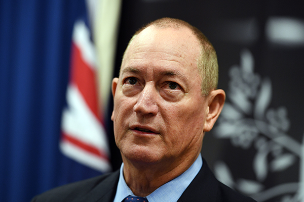 Senator Anning a 'disgrace to the parliament'
