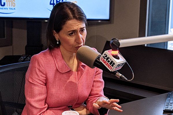 Gladys Berejiklian plays down 'personality clash' with QLD Premier