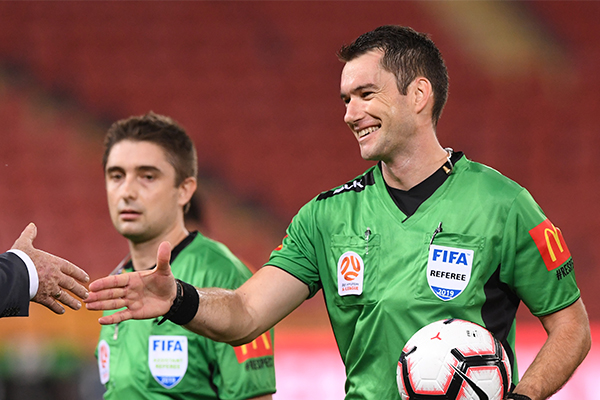 Article image for Top A-League referee quits for greater challenge in the UK