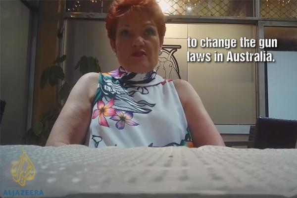 'It's disturbing': Pauline Hanson implicated by Part II of Al Jazeera sting