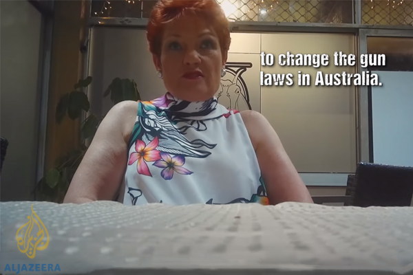Article image for 'It's disturbing': Pauline Hanson implicated by Part II of Al Jazeera sting