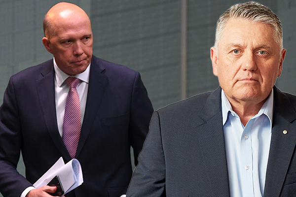 Peter Dutton and Ray Hadley clash over coal