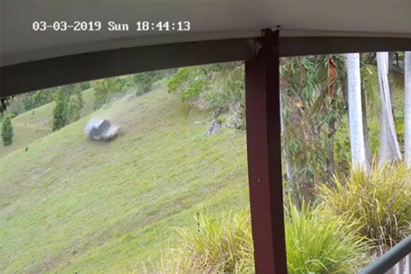 Article image for Incredible footage of car rollover: Now those who rushed to help are being slammed