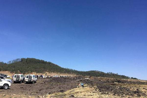 No survivors: 157 killed in Ethiopian Airlines crash