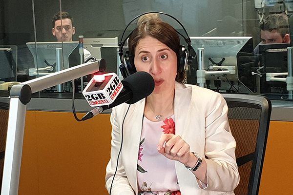 Article image for Gladys Berejiklian condemns 'immoral' Black Lives Matter protesters