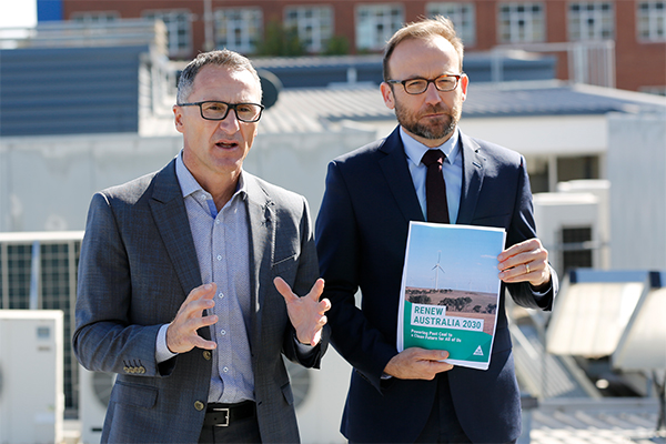 Article image for Greens announce plan to slash military funding