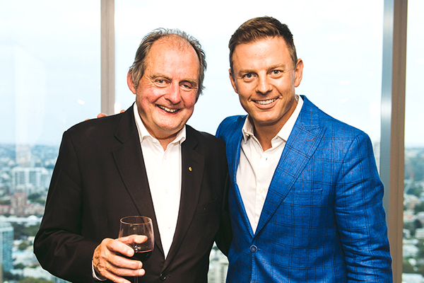 Ben Fordham interviews his own dad for a great cause