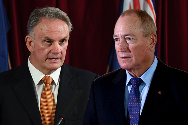 Article image for 'No normal person': Mark Latham slams Fraser Anning's anti-Muslim comments