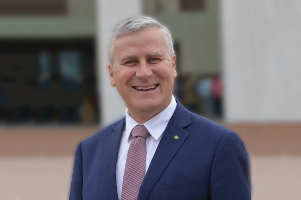 Article image for Does anyone know who Michael McCormack is? We hit the streets to find out