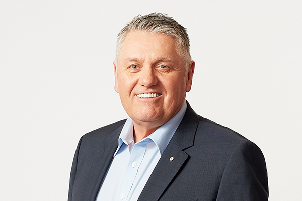 'It's a rotten sort of thing… and there's no cure': Ray Hadley in hospital