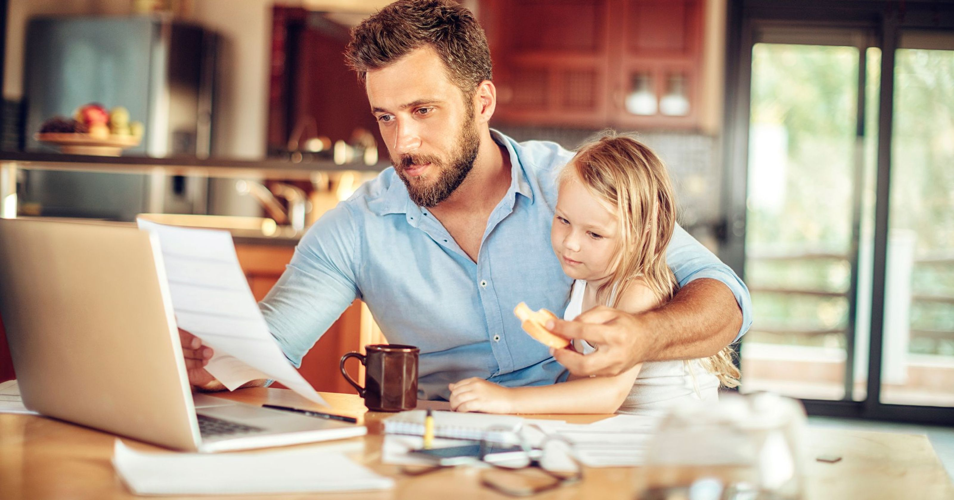 Working from Home To Care for Children Just Got Trickier