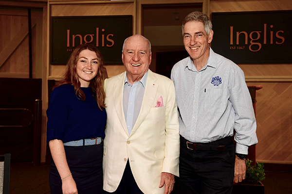Article image for Alan Jones broadcasts live from the incredible Inglis racing facilities