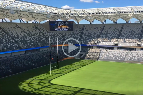 Article image for Behind the scenes at the new Bankwest Stadium