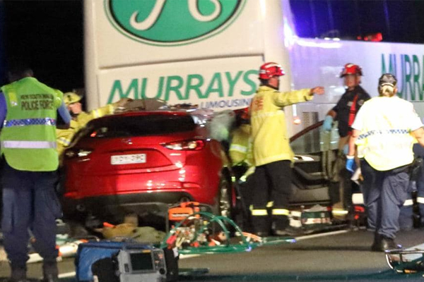 Article image for Teenagers fighting for life after horror M5 smash