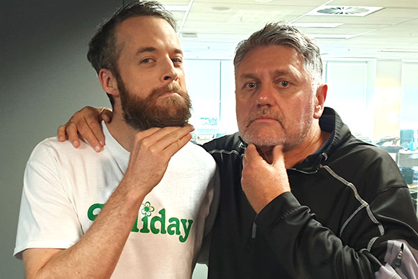 Who wore it better?: Ray Hadley's inspired new idea
