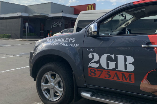 Fan Day- McDonald's Gladesville