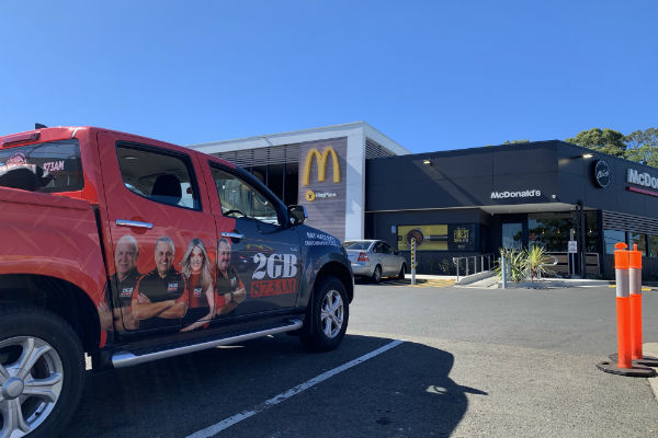 Fan Day- McDonald's Beacon Hill