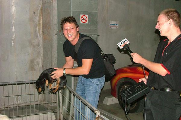Merrick & dog