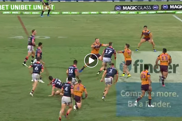 Article image for Is this one of the greatest tries in NRL history?