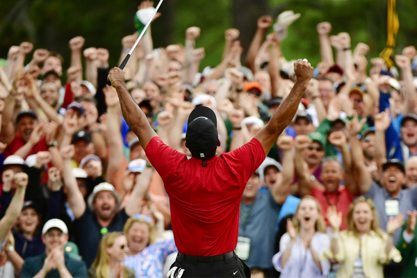 Article image for 'The greatest comeback in the history of sport': Tiger Woods wins the Masters