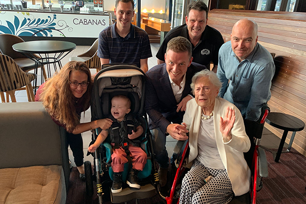 Article image for 95yo Marjorie makes UNBELIEVABLE donation to miracle baby Archie