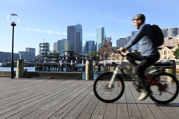 Article image for Should cyclists be paid to ride to work?