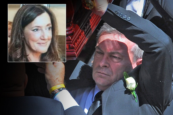 Article image for Borce Ristevski sentenced to six years in prison for killing wife Karen