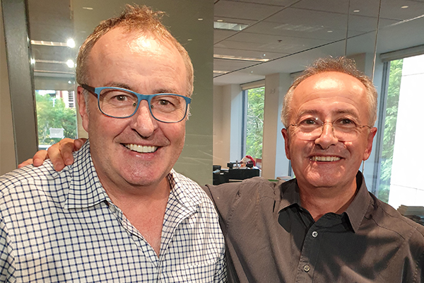 Andrew Denton reveals the importance of his famous blue chairs