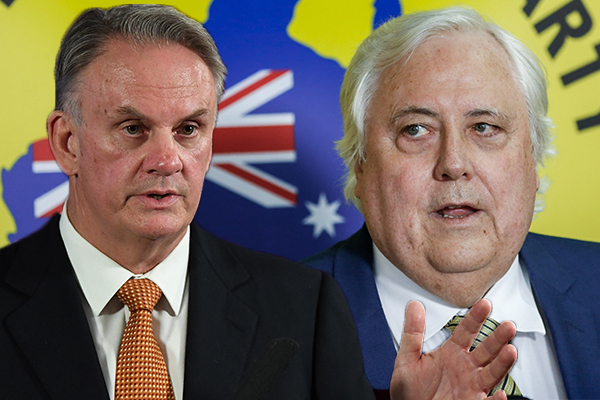 Article image for Mark Latham rubbishes claims Clive Palmer could become 'kingmaker'