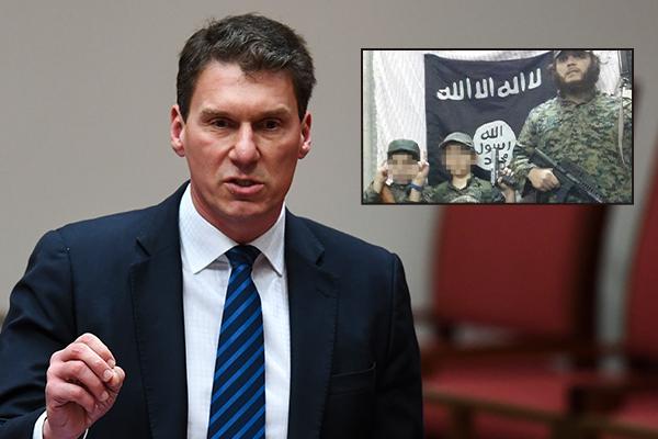 Cory Bernardi says children of ISIS terrorist should never return to Australia