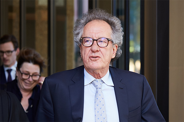 Article image for Geoffrey Rush wins defamation case against Nationwide News