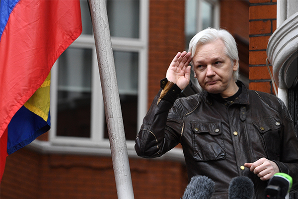 Julian Assange arrested by British police